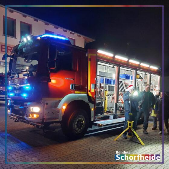 Neues Feuerwehrfahrzeug